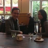 Hallo Im Interview für VT1 - dem Nationalen Vietnamesischen Sender