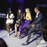 Hallo Moderation für Cybex mit Anna K, Karoline Kurkova, CEO Martin Pos