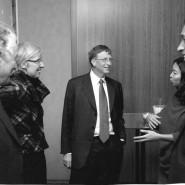 Hallo Treffen zwischen ONE Mitgliedern und Bill Gates